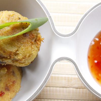 Smoked Fish, Kumara with Zest of Orange & Ginger Cakes