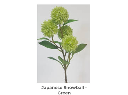 Snowball Spray Green 55 cm