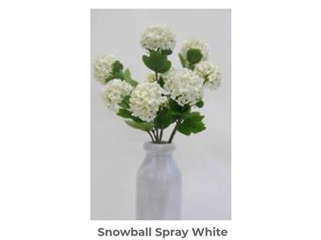 Snowball Spray White 55cm