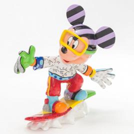 Snowboarding  Mickey - Romero Britto