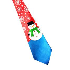 SNOWMAN #2 CHRISTMAS NOLVETY TIE