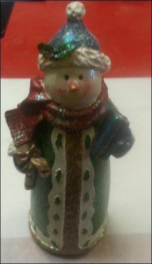 Snowman standing