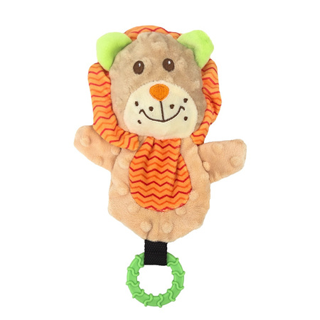 Snuggle Puppy Lion with Teether