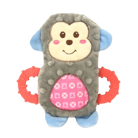 Snuggle Puppy Monkey with Teether