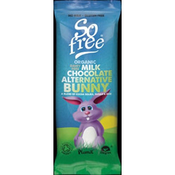 So Free Organic Rice Milk Chocolate Bunny