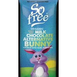So Free Organic Rice Milk Chocolate Bunny