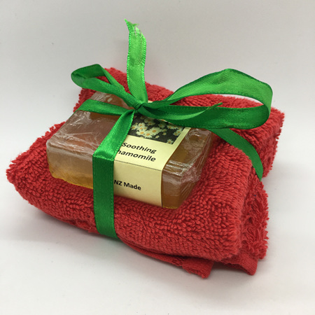Soap & Facecloth Gift Pack