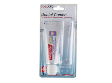 SOAP2GO 2In1 Dental Travel Set