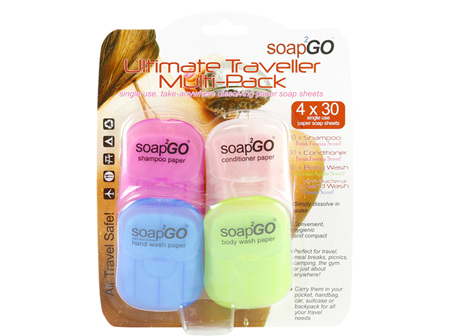 SOAP2GO Ultimate Traveller Multi-Pk