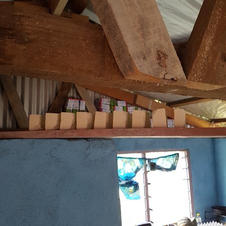 Soapmaking in Arovundi