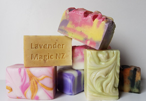Soaps with Essential Oils
