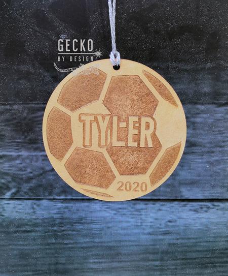 Soccer Ball Christmas Decoration