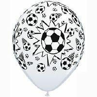 soccer balloon latex x 1