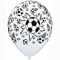 soccer balloon latex x 1