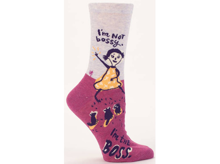 Socks Im Not Bossy BQSW460