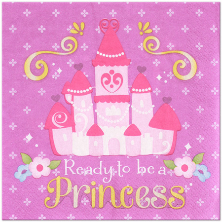 Sofia the First Party Napkins x 16