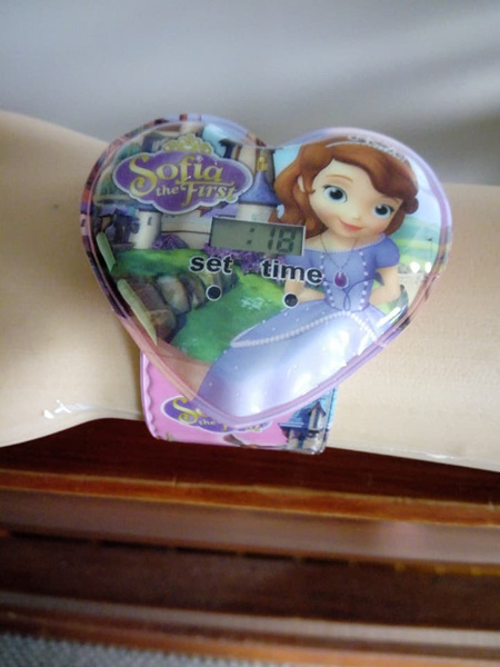 Sofia the First Snap Watch