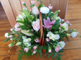 soft basket arrangement