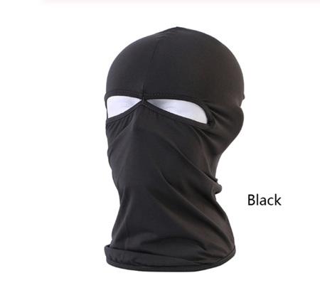 Soft Breathable Hooded Balaclava *Black*