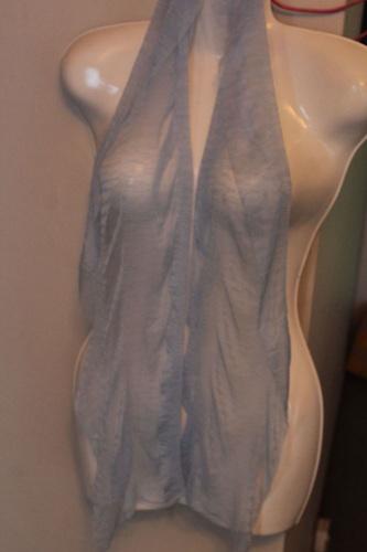 Soft scarf - CLEARANCE - LIGHT BLUE