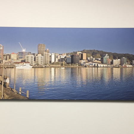 Solace Wellington - block mounted photograph