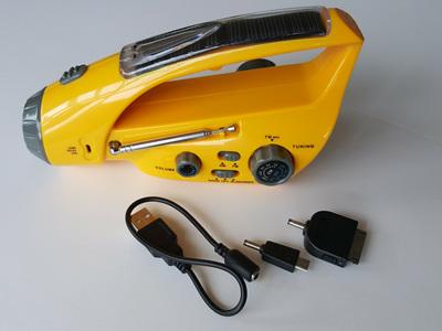 Solar & Dynamo Radio/Siren/Torch