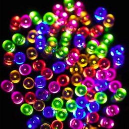 Solar Fairy Lights 100 LED 10M - Rainbow