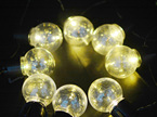 solar festoon lights, solar led fairy lights, garden solar lights