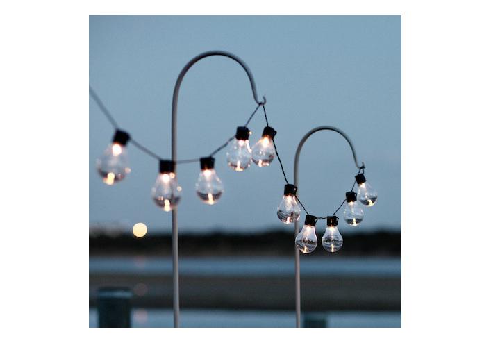solar festoon lights, solar led fairy lights, garden solar lights