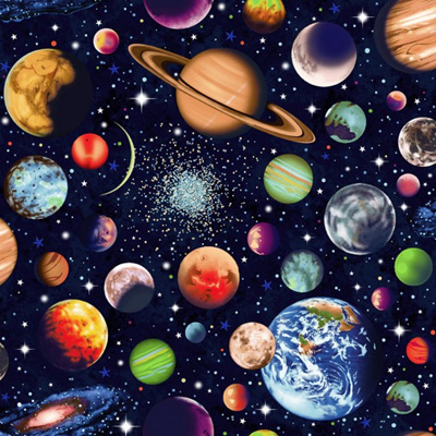 Solar System - Scattered Planets