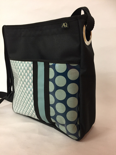 Sole - large eyelet bag to fit A4