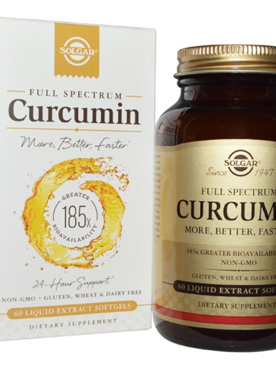 Solgar Curcumin, 60 Liquid Extract Softgels