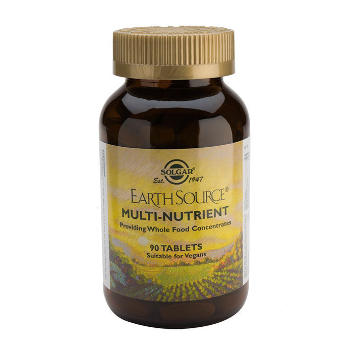 Solgar Earth Source MultiNutrient Tablets