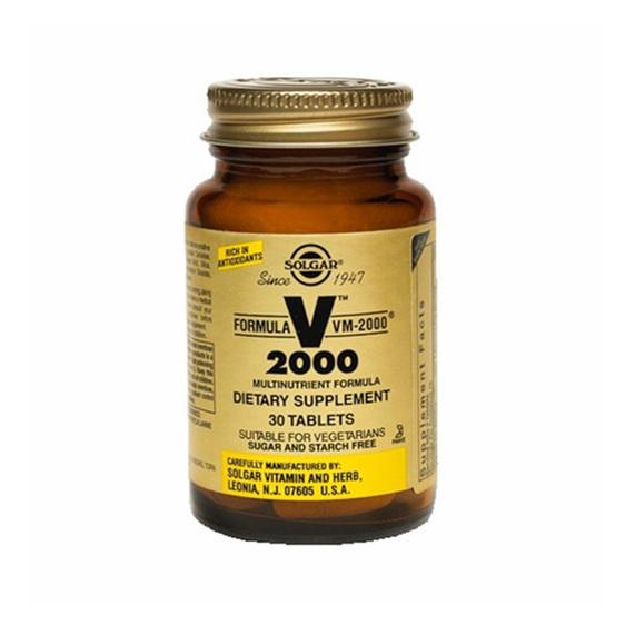 SOLGAR FORMULA VM-2000® (MULTINUTRIENT SYSTEM) 30 TABLETS