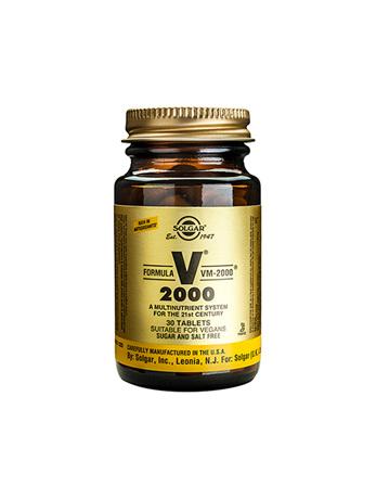 SOLGAR VM2000 Mult-Nutrient 30tab