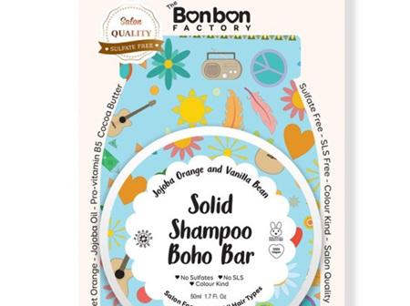 Solid Boho Shampoo Bar