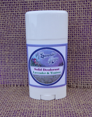 Solid Deodorant Lavender and Tea Tree