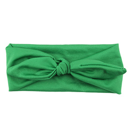 SOLID KNOT HEADBAND - GREEN