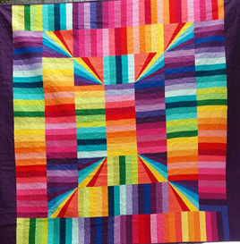 Solid Sunshine Quilt (for Jenny) bright