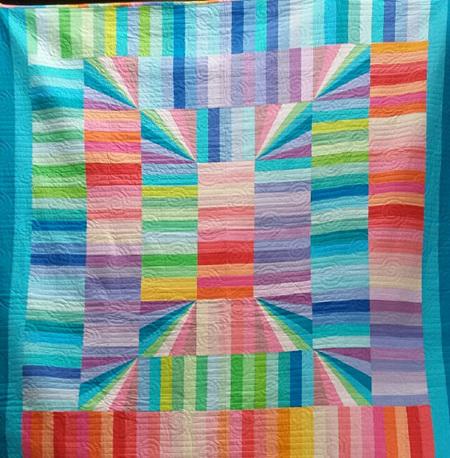 Solid Sunshine Quilt (for Jenny) pastel