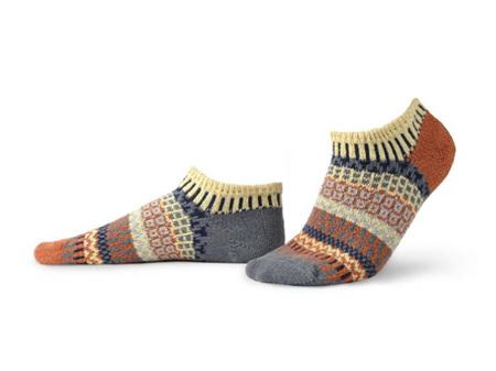 Solmate Socks Adult Ankle Socks Nutmeg Large