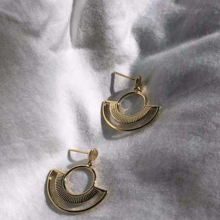 Some 18K Gold Earrings - Audrey