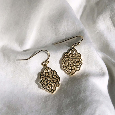 Some 18K Gold Earrings - Fleur