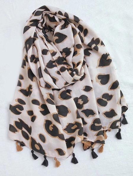 Some Abstract Animal Print Scarf