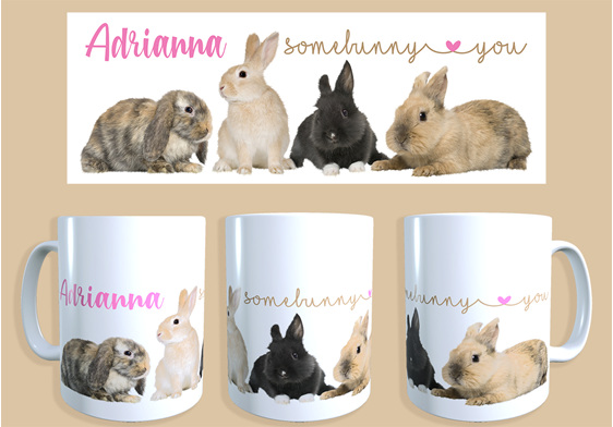 somebunny loves you personalised