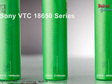 Sony VTC battery range