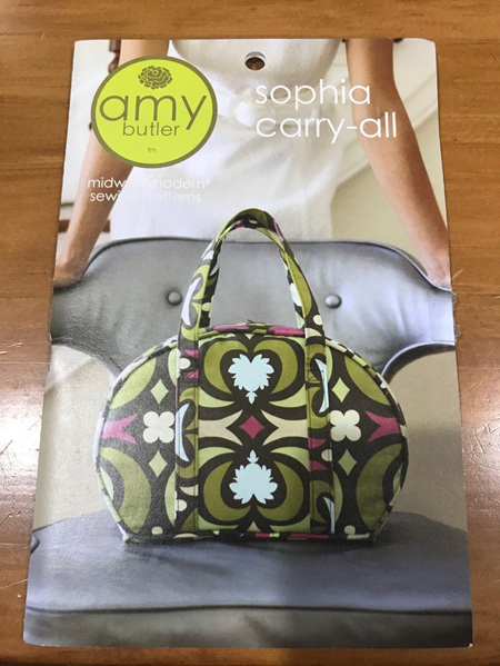 Sophia Carry-All Bag Pattern
