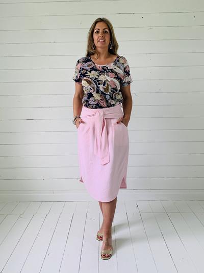 Sophia Skirt - Pink