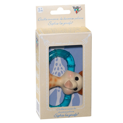 Sophie the giraffe - double ice teething ring