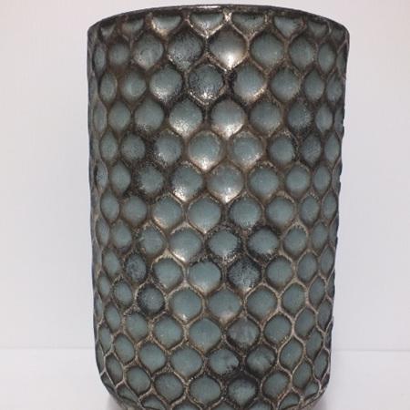 Sorrento  Tin vase Pewter C3841